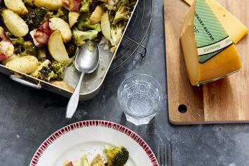 Broccoli-kaas ovenschotel